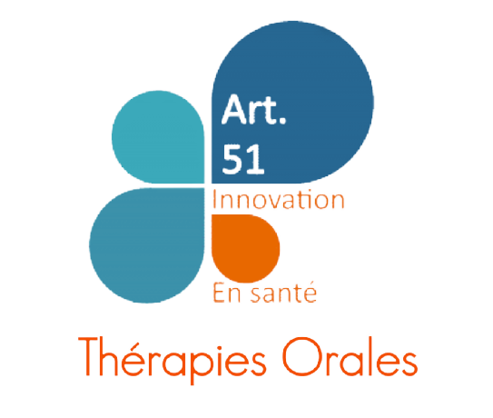 Logo article 51, innovation en santé, innovation en pharmacie, coordination ville/hôpital, coordination pharmaciens d'officine / pharmaciens hospitaliers